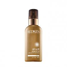 REDKEN Масло аргановое для блеска и восстановления волос / All Soft 6 х 90 мл