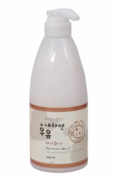Гель для тела молочный Welcos Kwailnara White Milk Body Wash 740г