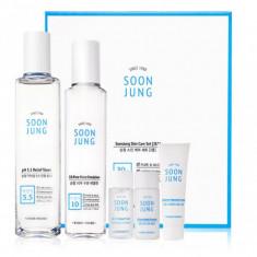 набор уходовый для чувствительной кожи etude house  soon jung skin care set (2kinds)