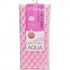 Массажная мочалка с хитозаном средней жесткости Aqua AISEN
